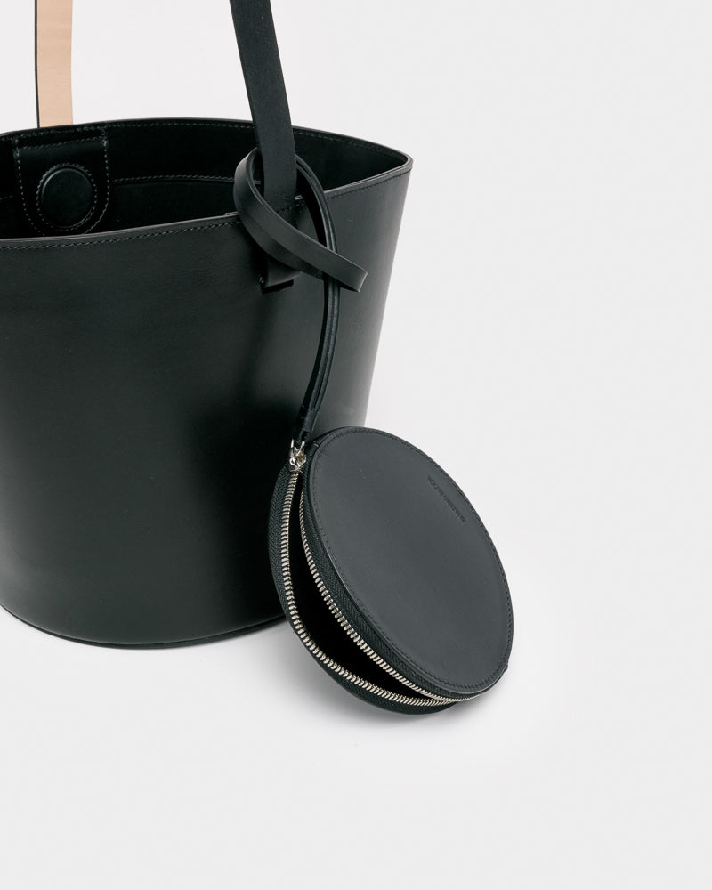Basket Bag in Black by Building Block