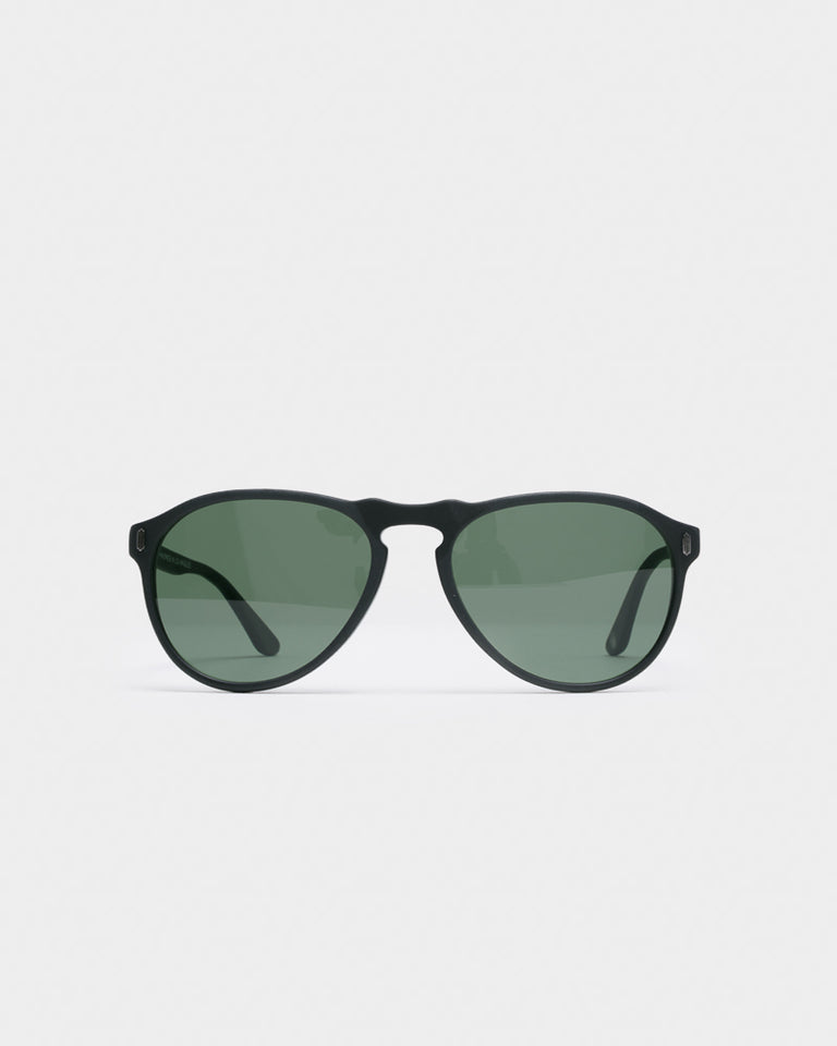 F-34 Sunglasses in Jet Black Matte