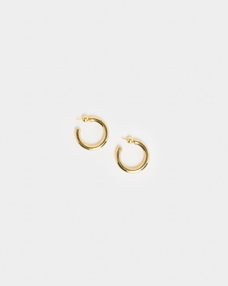 Small Everyday Hoops in 18k Gold Vermeil