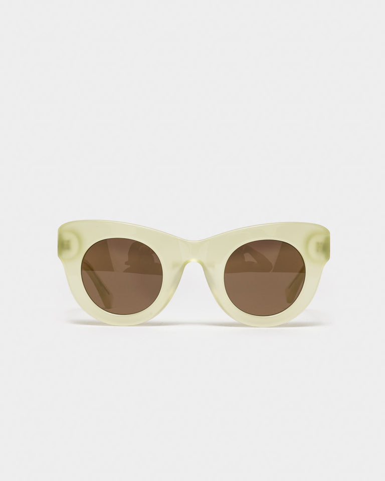 Uma Sunglasses in Milky Citrus