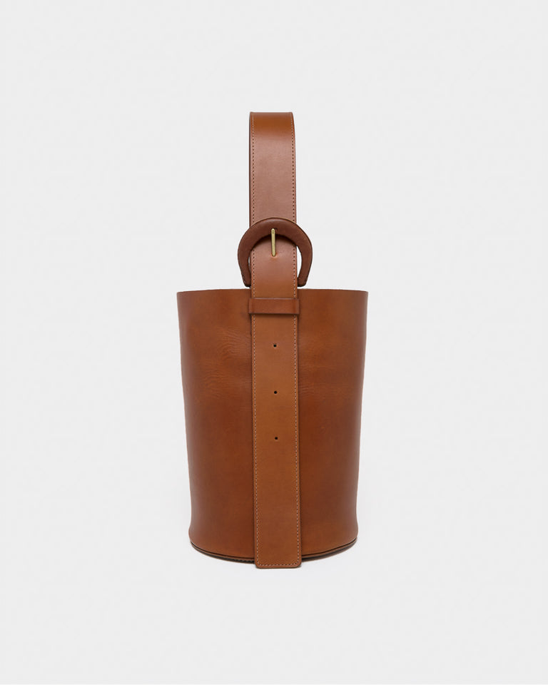 Dune Bag in Saddle Brown