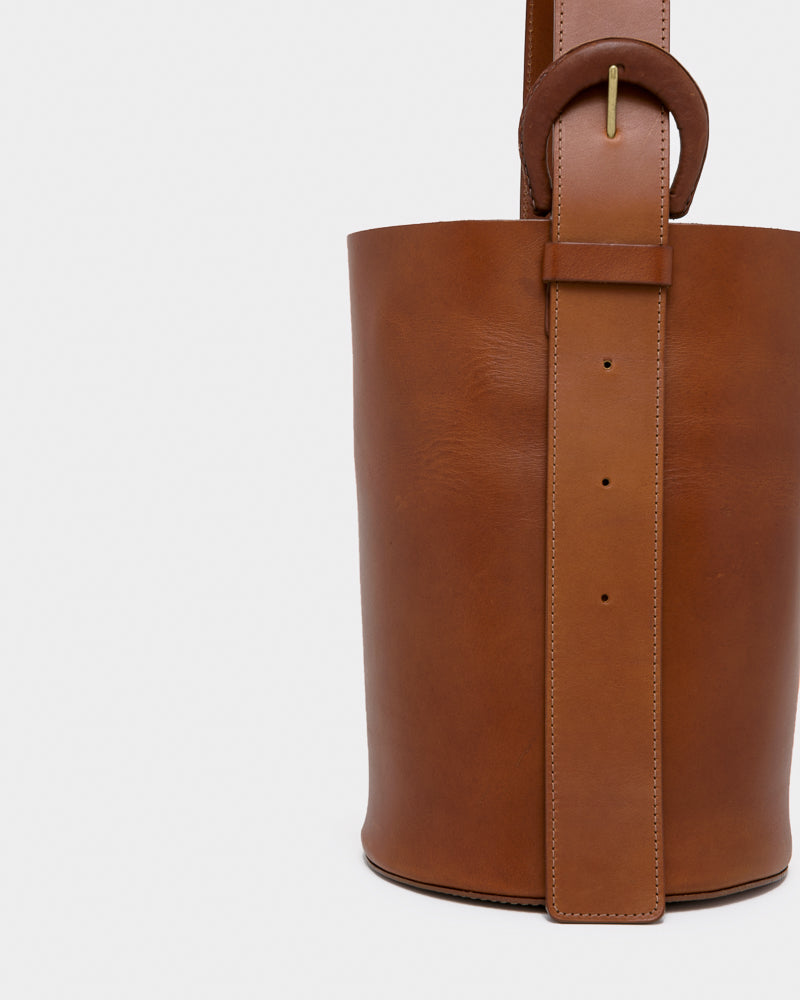 Dune Bag in Saddle Brown by Crescioni at Mohawk General Store