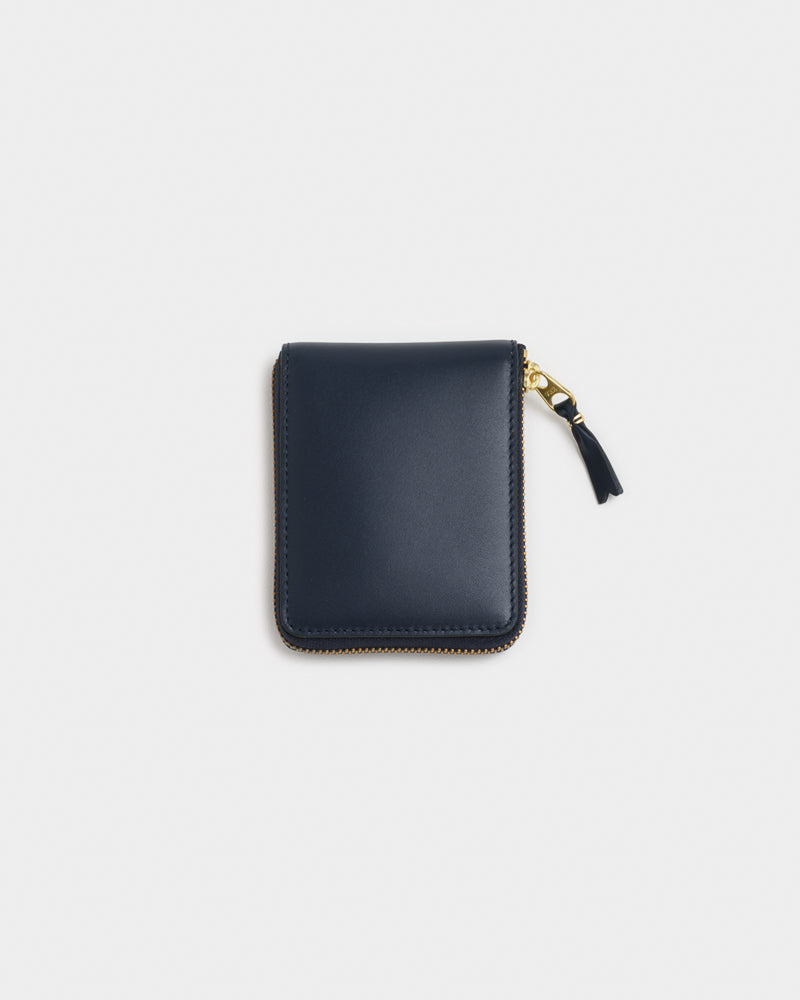 Classic Leather Line Wallet 7100 in Navy by Comme des Garçons Wallet at Mohawk General Store