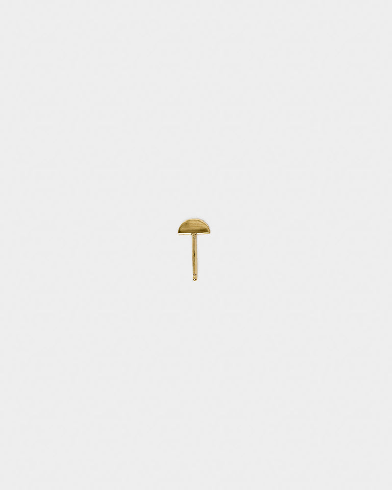 Axe Stud in 14k Gold