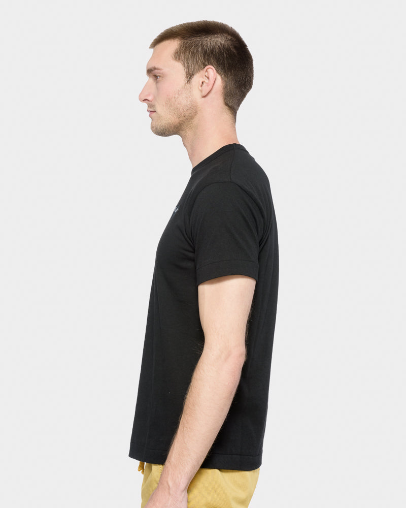 Black Heart T-Shirt in Black by Comme des Garçons PLAY- Mohawk General Store