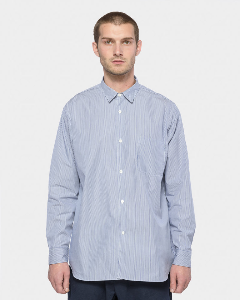 Wide Body Shirt in Light Blue