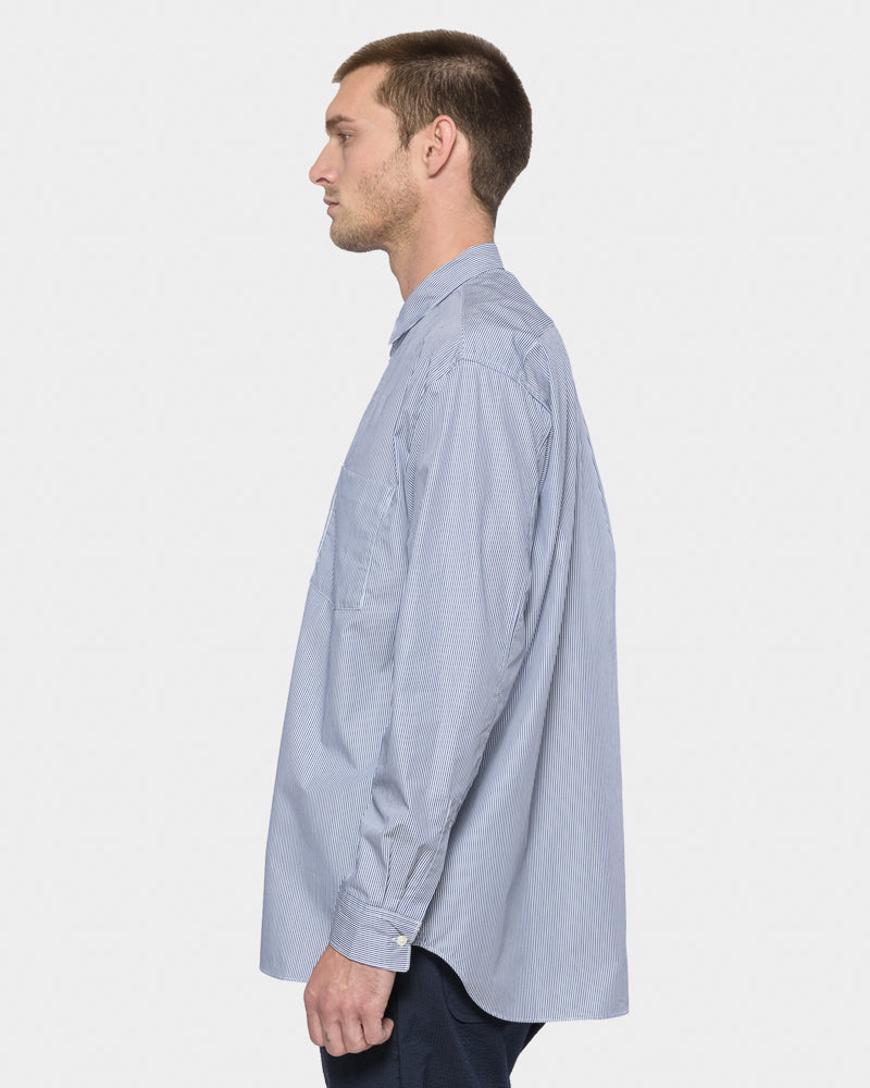 Wide Body Shirt in Light Blue by SMOCK Man- Mohawk General Store
