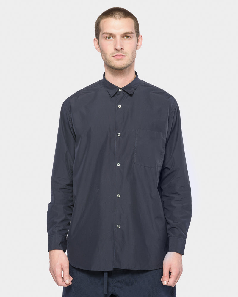 Wide Body Shirt in Midnight by SMOCK Man- Mohawk General Store