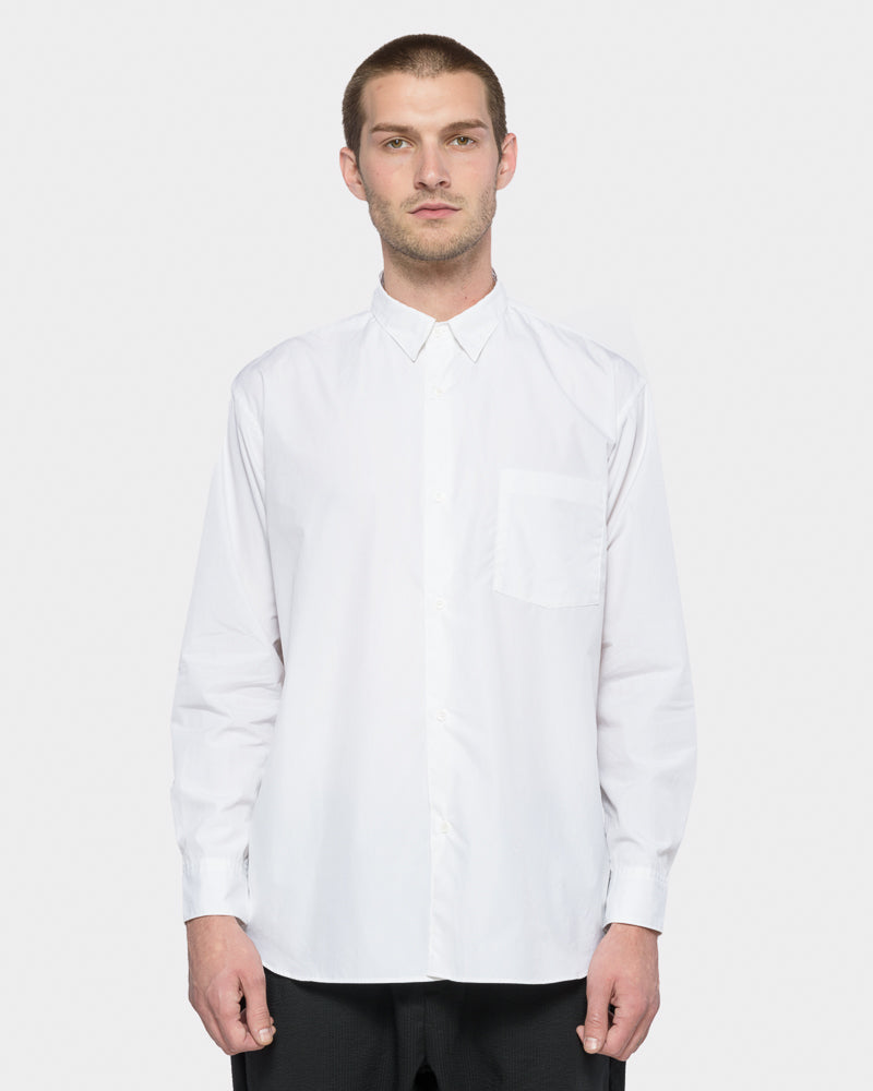 Wide Body Shirt in White by SMOCK Man- Mohawk General Store