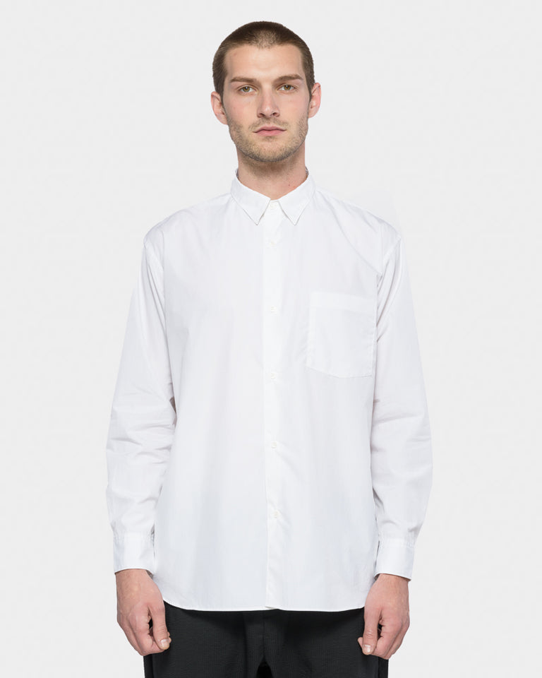 Wide Body Shirt in White
