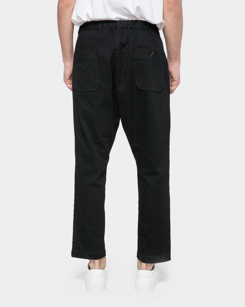 Yoyogi Pant in Black by SMOCK Man- Mohawk General Store