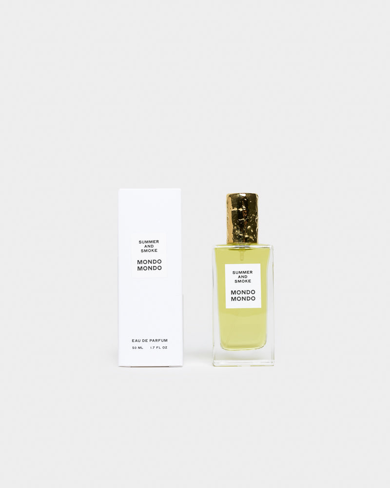 Eau de Parfum in Summer & Smoke by Mondo Mondo at Mohawk General Store
