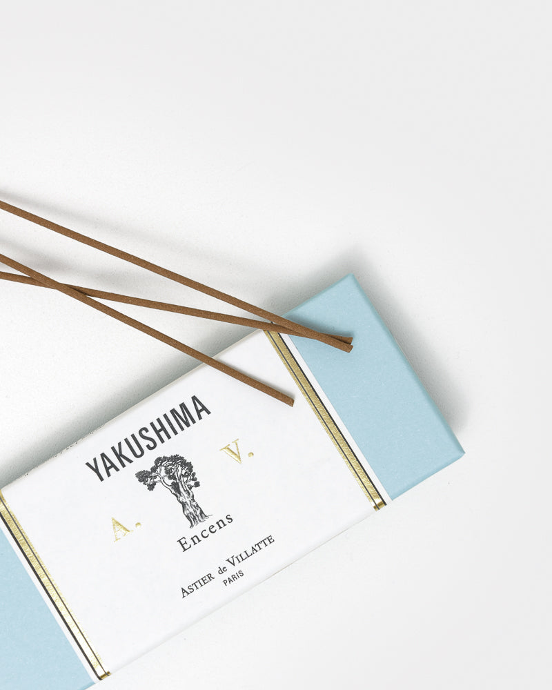 Incense in Yakushima by Astier de Villatte at Mohawk General Store