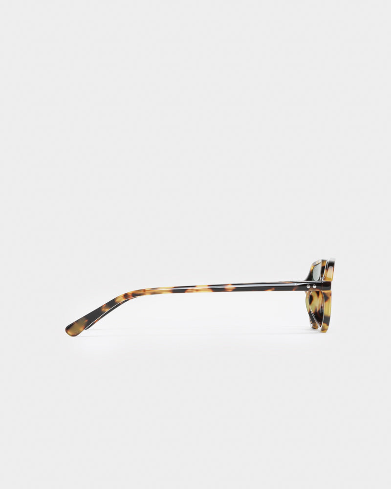 Sunglasses in T-Shell / Silver / Petrol