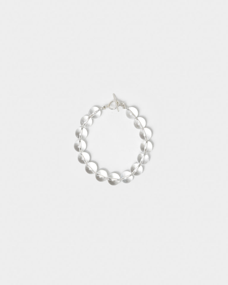 Crystal Clear Bracelet in Sterling Silver