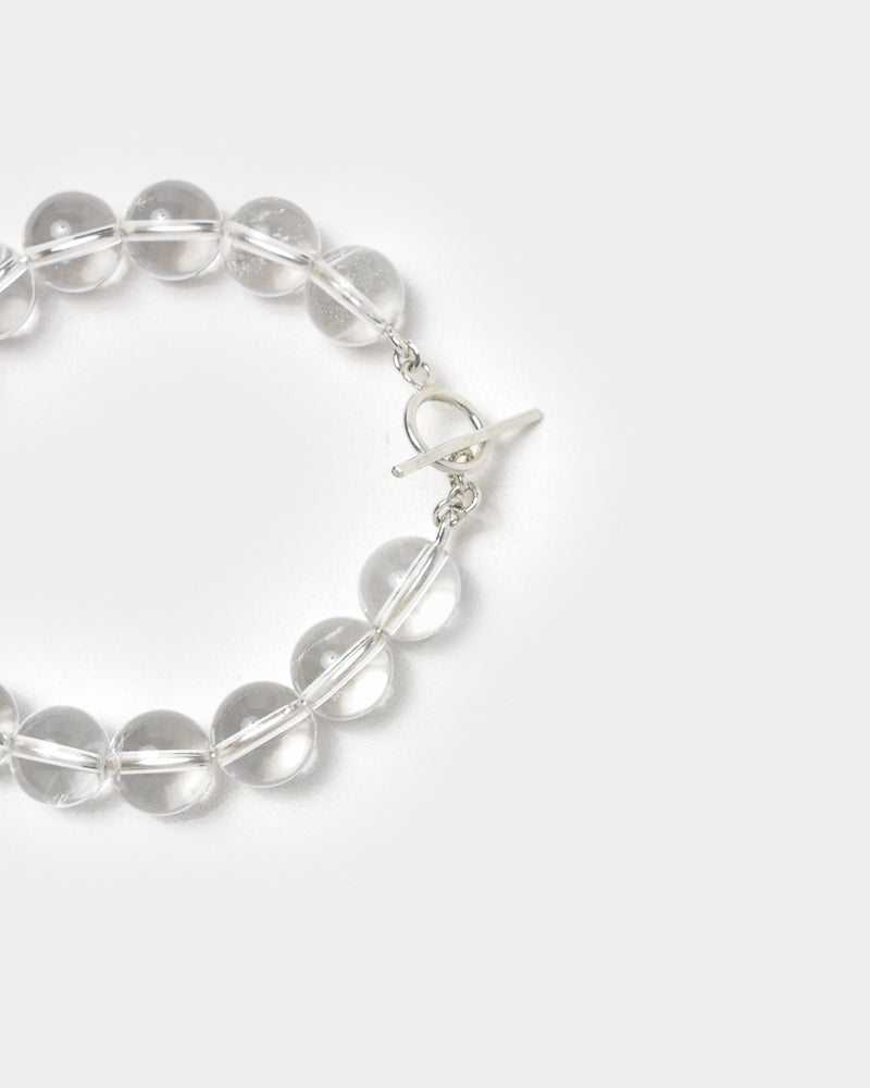 Crystal Clear Bracelet in Sterling Silver by Alexa de la Cruz at Mohawk General Store