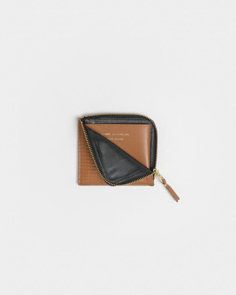 Brick Line Wallet 3100BK in Beige