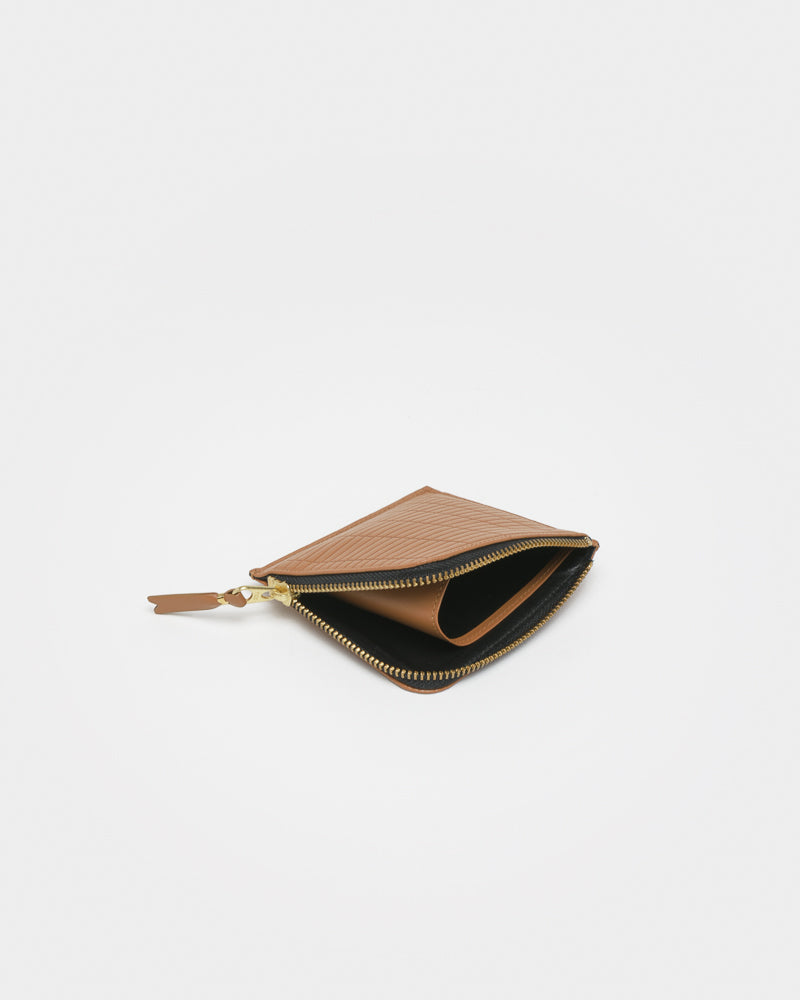 Brick Line Wallet in Beige