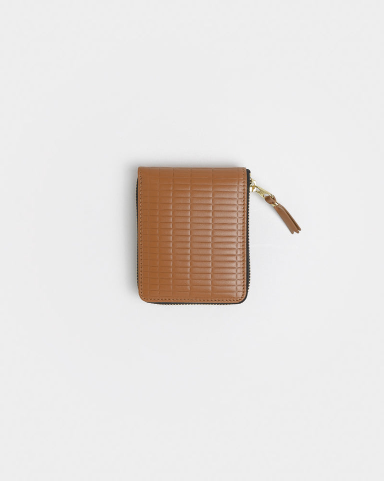 Brick Line Wallet 7100BK in Beige