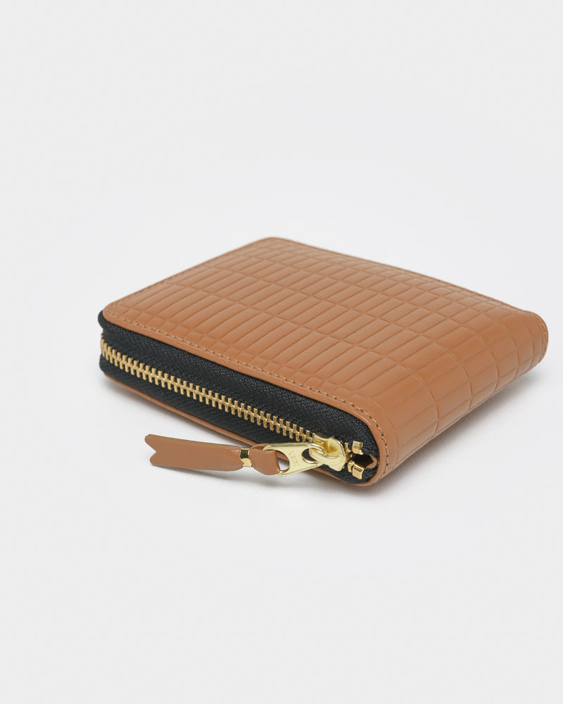 Brick Line Wallet 7100BK in Beige by Comme des Garçons Wallet at Mohawk General Store
