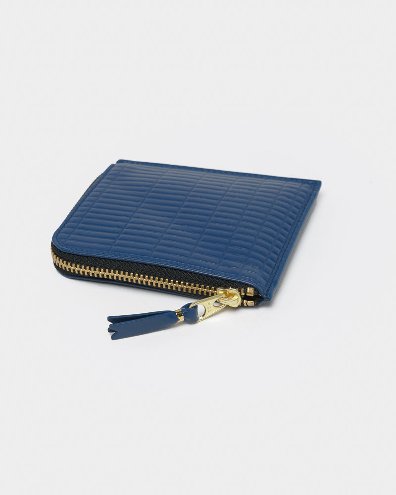 Brick Line Wallet in Blue