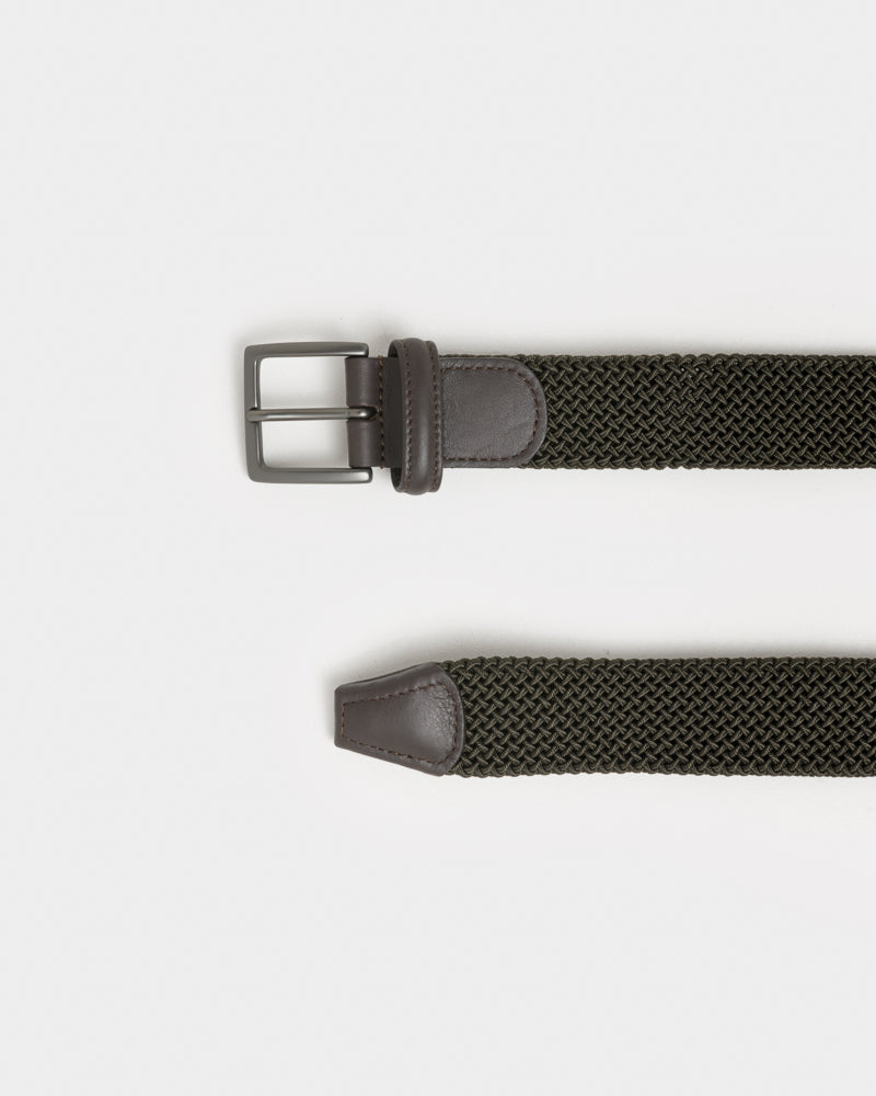 Belt V4 / M1 in Olive by Anderson's at Mohawk General Store