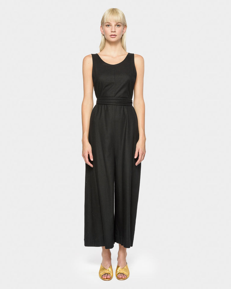 The Palma Jumpsuit in Black