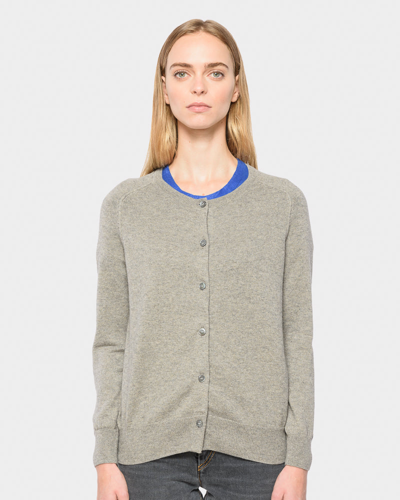 Napoli Cardigan in Grey