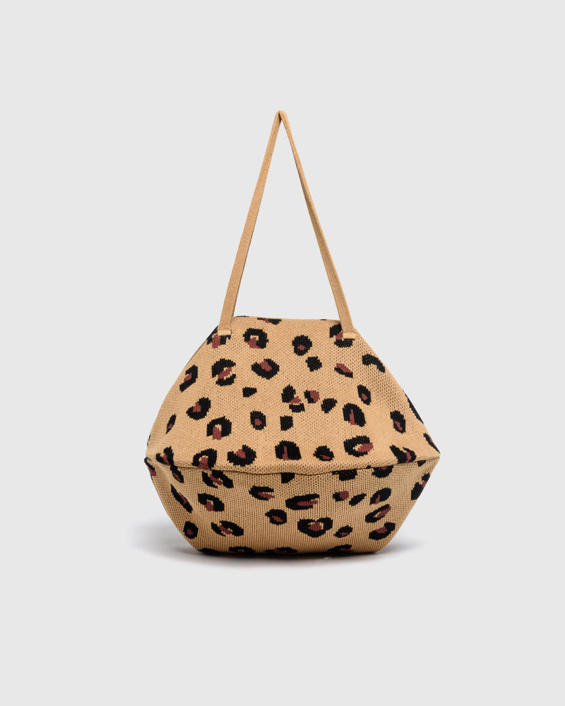 Cheetah Pita Bag in Camel by Hansel from Basel at Mohawk General Store