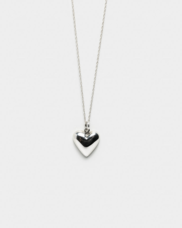 Petite Heart Pendant in Sterling Silver