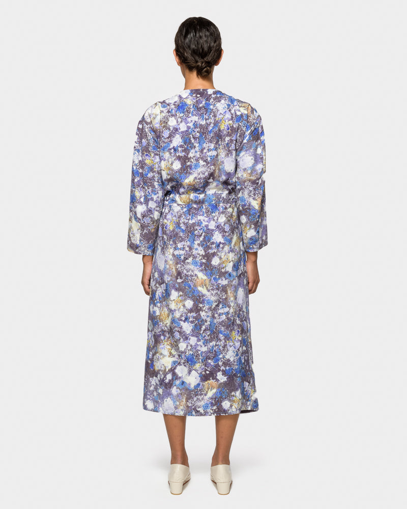 Binding Dress in Print O by Anntian at Mohawk General Store