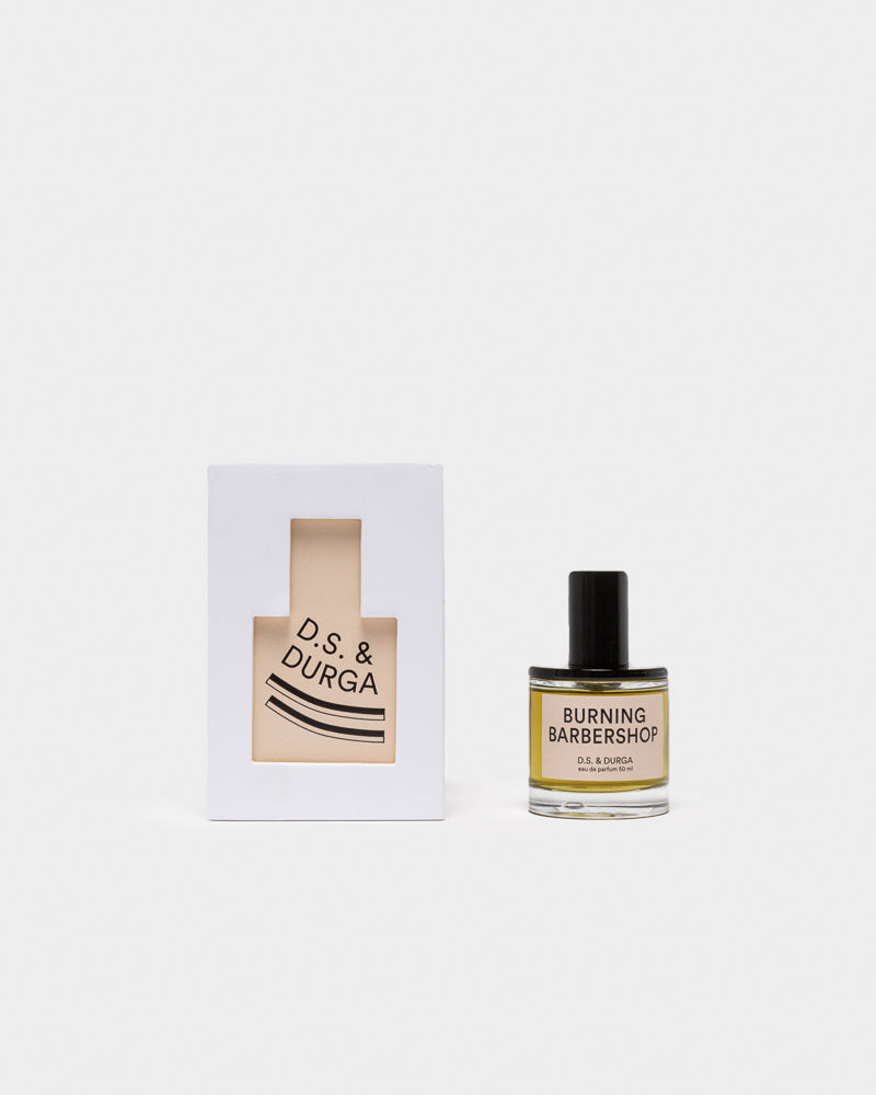 Eau de Parfum in Burning Barbershop 50ml by D.S. & Durga at Mohawk General Store