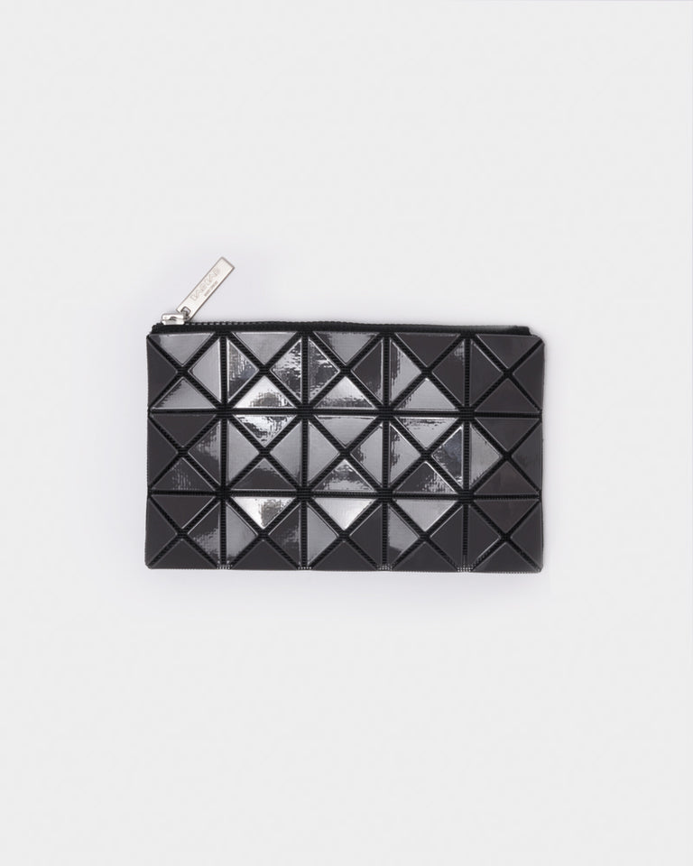 Prism Flat Pouch in Grey