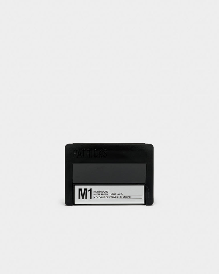 M1 Pomade in Vetiver and Silver Fir
