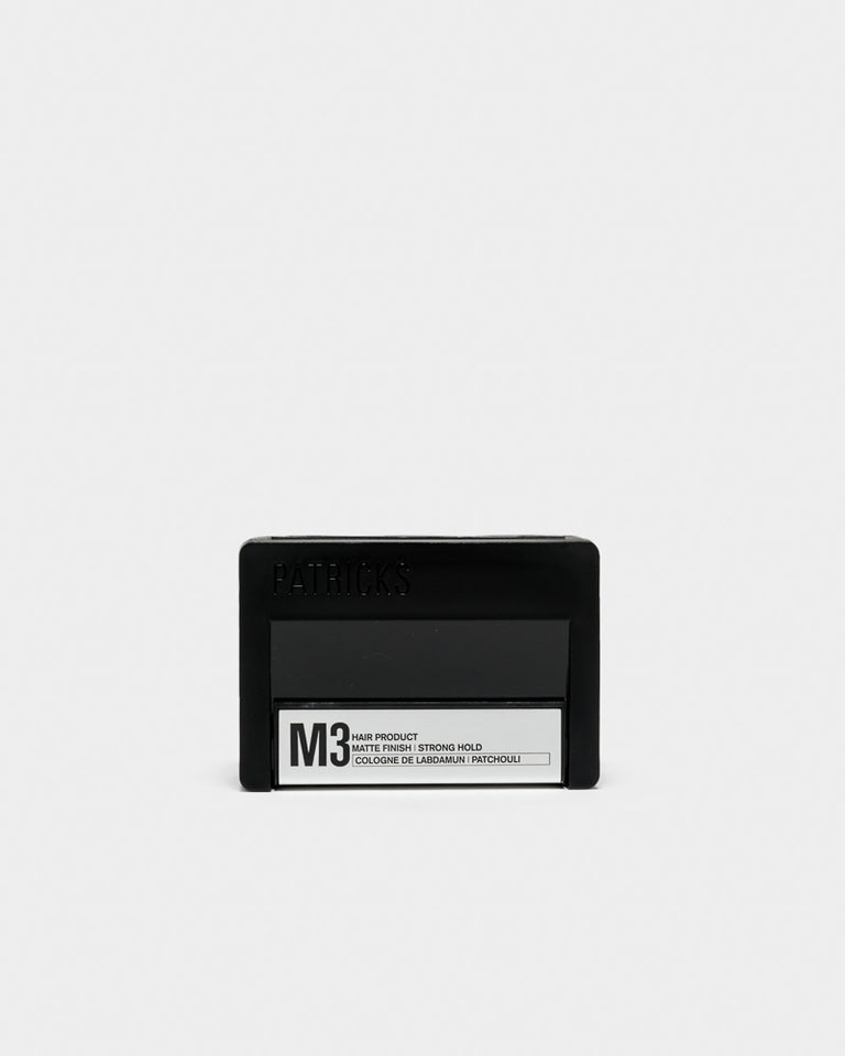 M3 Pomade in Labdanum and Patchouli