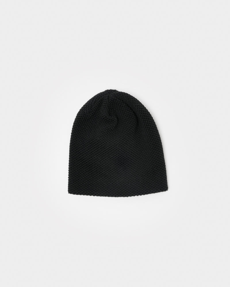 Bubble Beanie in Black by SMOCK Man at Mohawk General Store