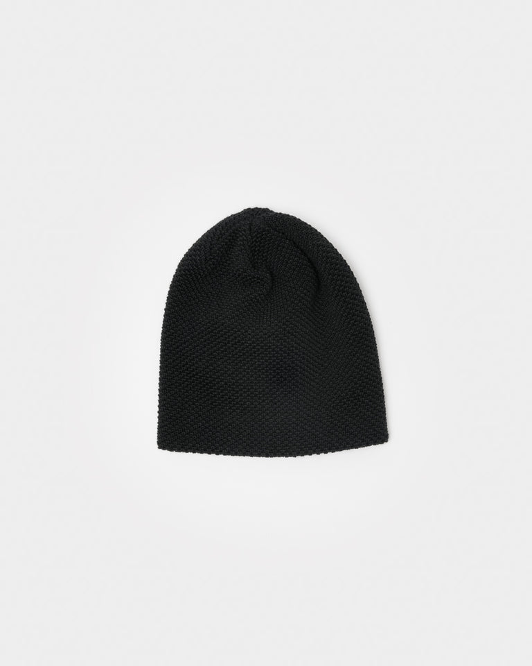 Bubble Beanie in Black