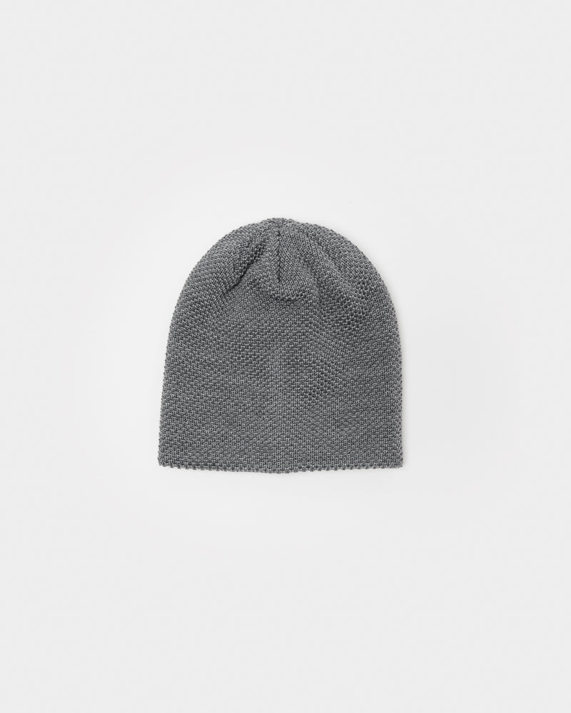 Bubble Beanie in Heather Grey by SMOCK Man at Mohawk General Store