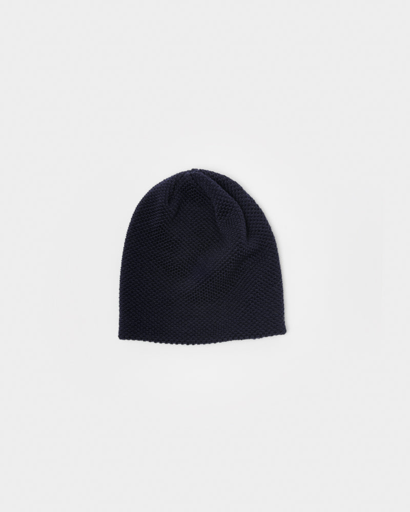 Bubble Beanie in Dark Navy by SMOCK Man at Mohawk General Store