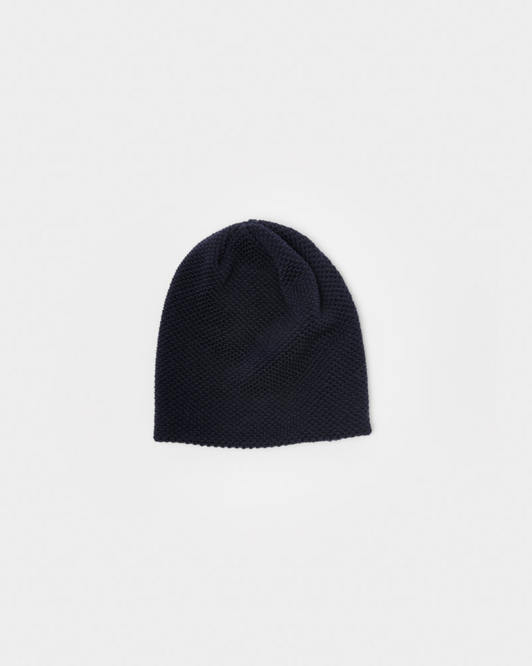 Bubble Beanie in Dark Navy