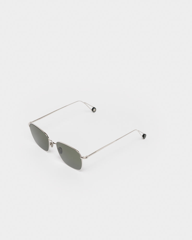 Blanche Sunglasses in White Gold