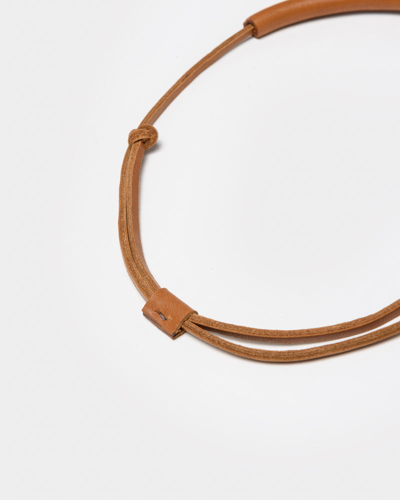 Georgia Necklace in Saddle Brown by Crescioni at Mohawk General Store