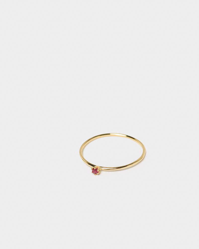 Baby Ring in Ruby