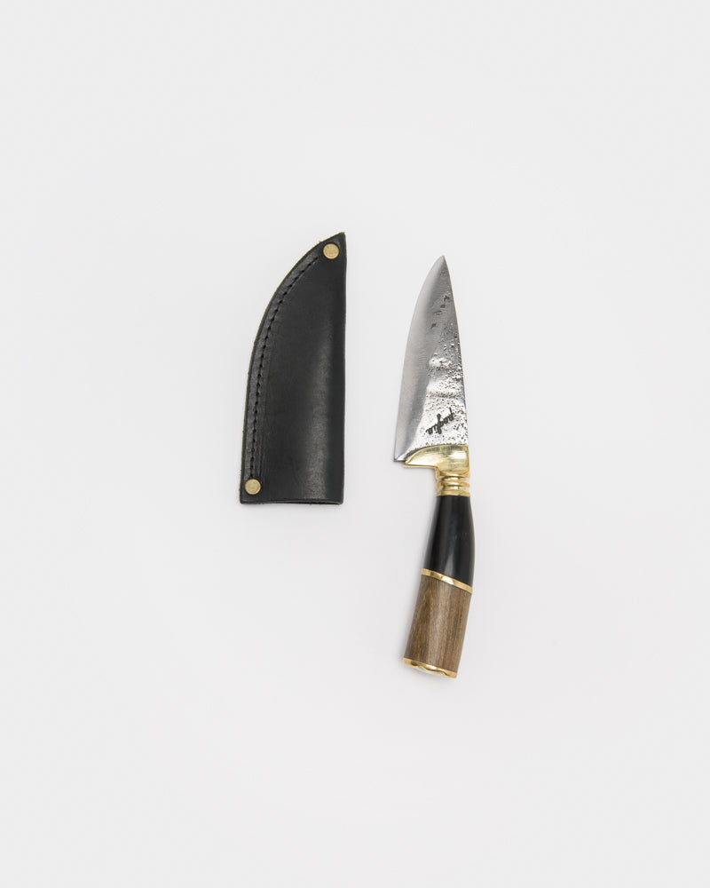 Handcrafted Mini Knives in Horn & Wood by Poglia&Co at Mohawk General Store