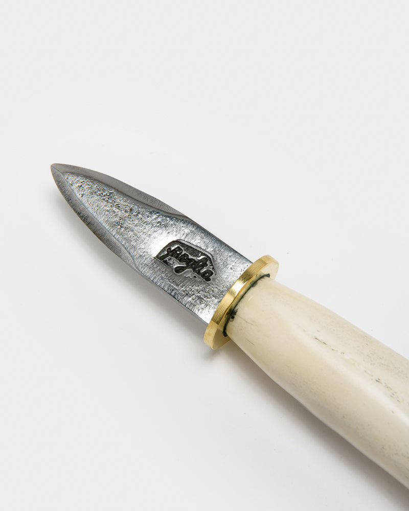 Oyster Knife in Bone
