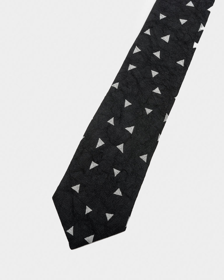 Triangle Tie in Black