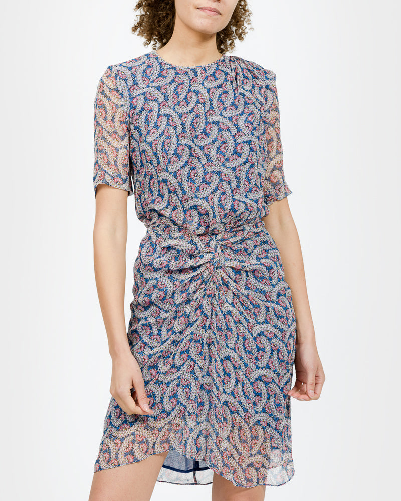 Barden Dress in Blue