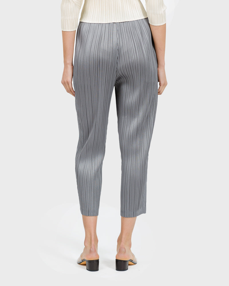 Stilted Form Pants in Silver