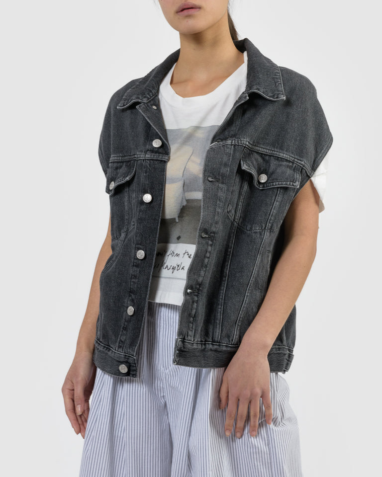 Jean Jacket in Grey
