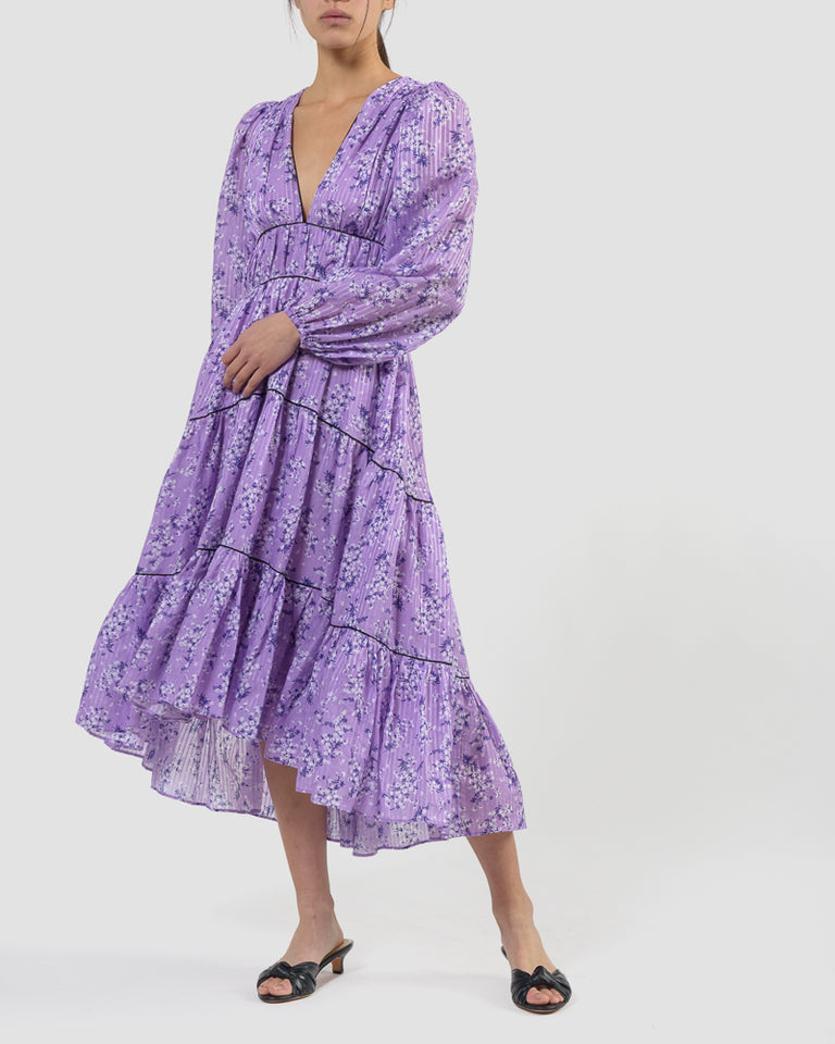 Joan Dress in Lilac